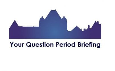 Your Question Period Briefing: Has the campaign started, yes or no?