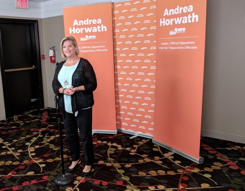Horwath rallies the troops with a vow to fight Ford with every procedural tool