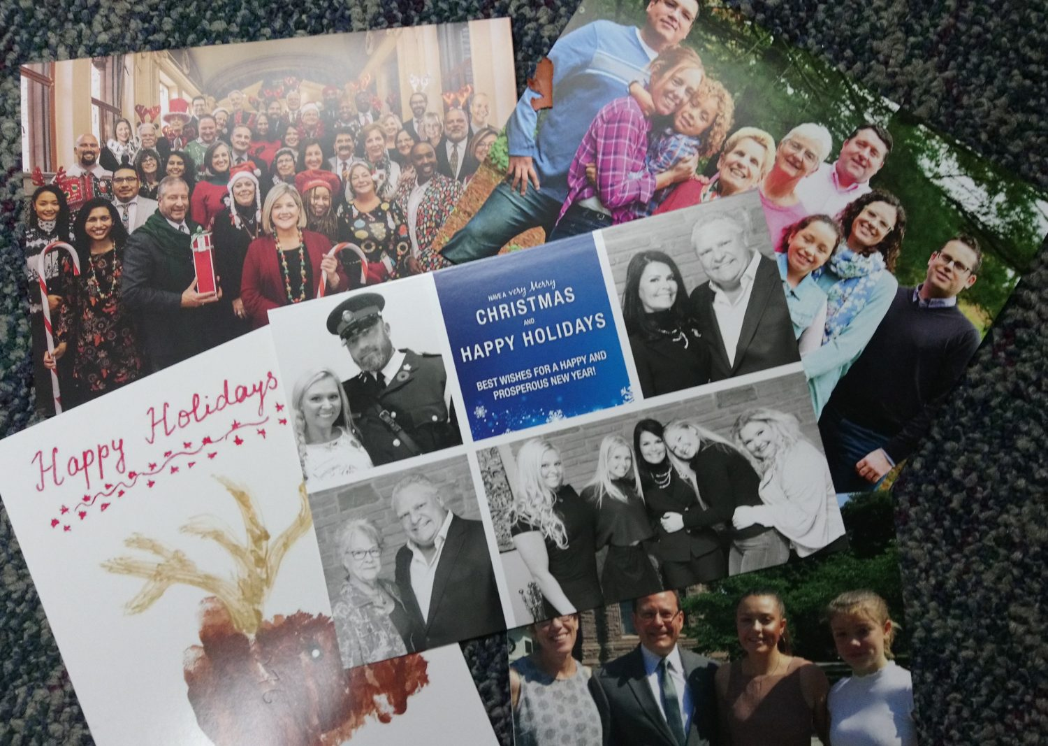Milloy: The real story behind politicians' Christmas cards