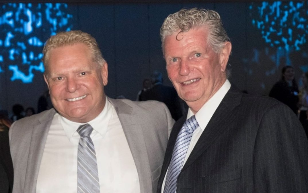 Updated: Ford friend Ron Taverner withdraws his name from consideration for OPP Commissioner