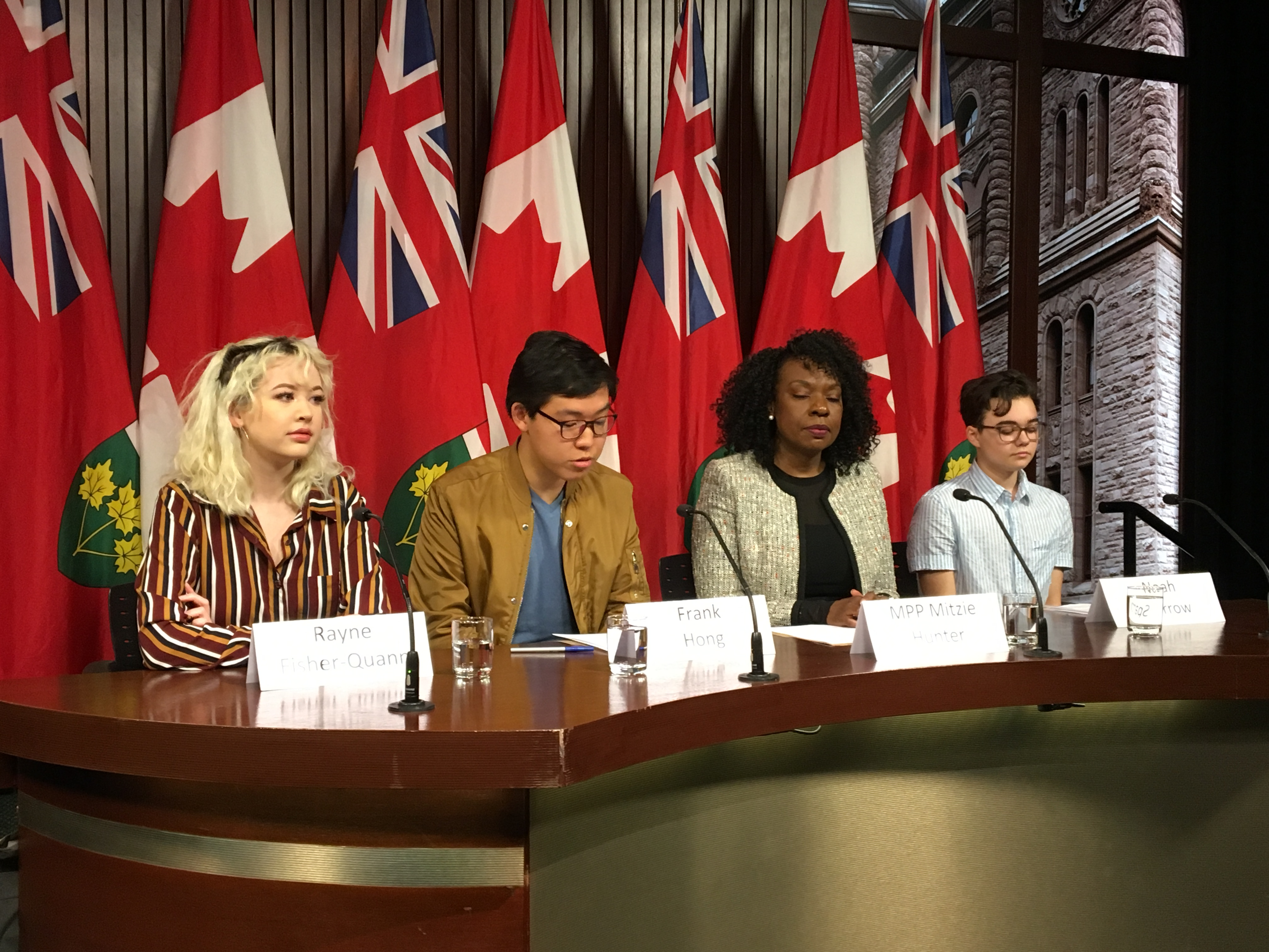 Premier is 'incredible at getting us mad and getting us active,' student organizing mass walkout says
