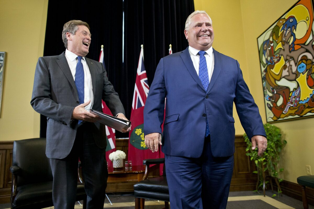 Toronto and Peel to join stage three