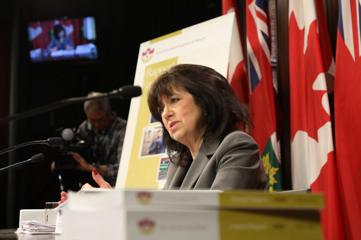 Auditor general's report will highlight environmental and long-term care issues