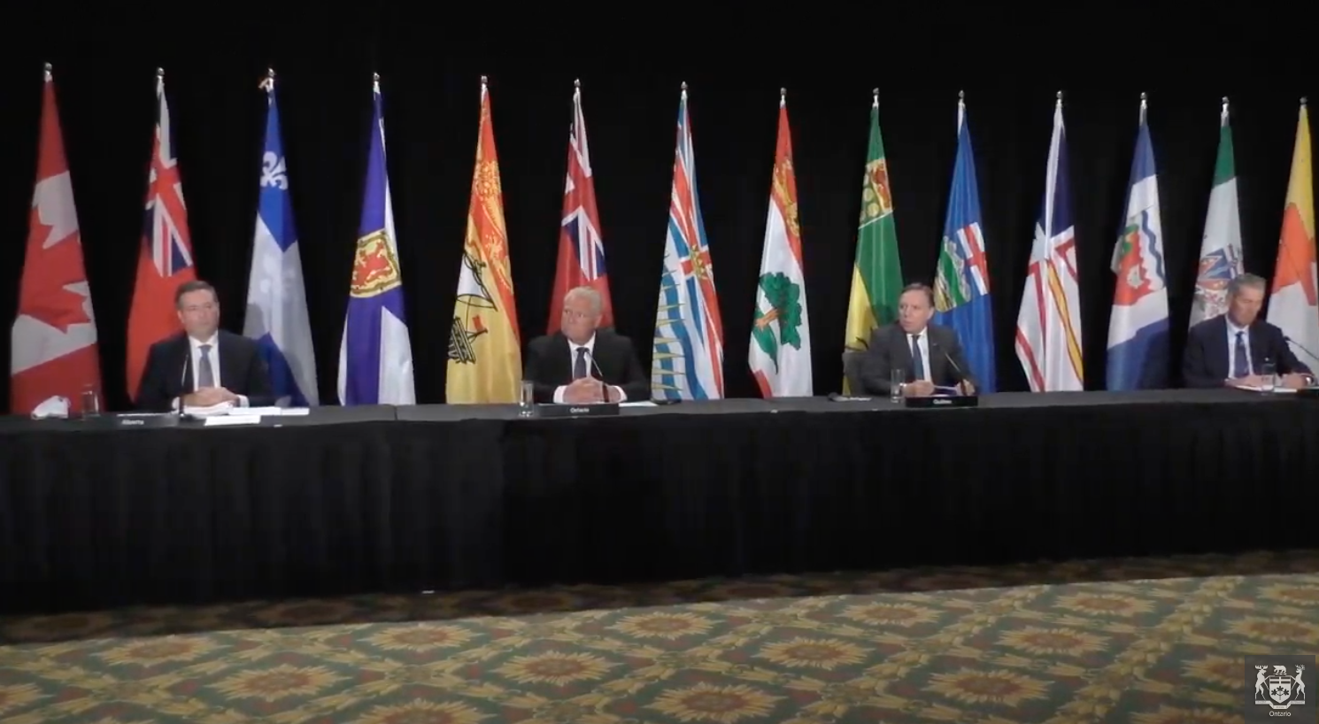 In Brief: Premiers band together to ask for more health-care funding