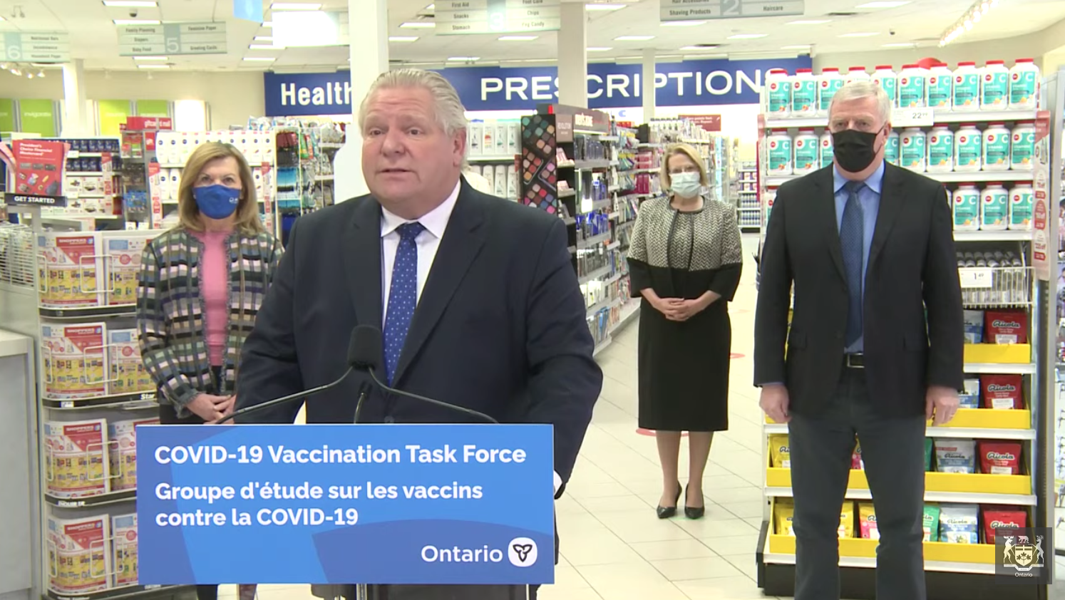 COVID-19 shots at Ontario pharmacies to expand to all those 60 and older