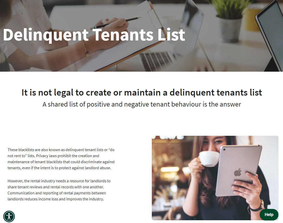 'Consent is not required': List of 'positive and negative' tenant behaviour raises privacy, discrimination concerns