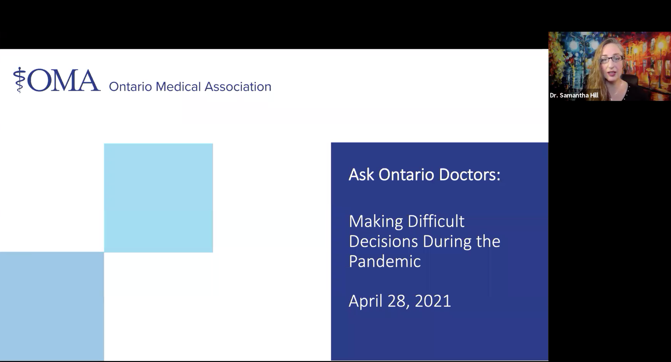 On the front lines: Doctors and health experts discuss 'extremely hard decisions'