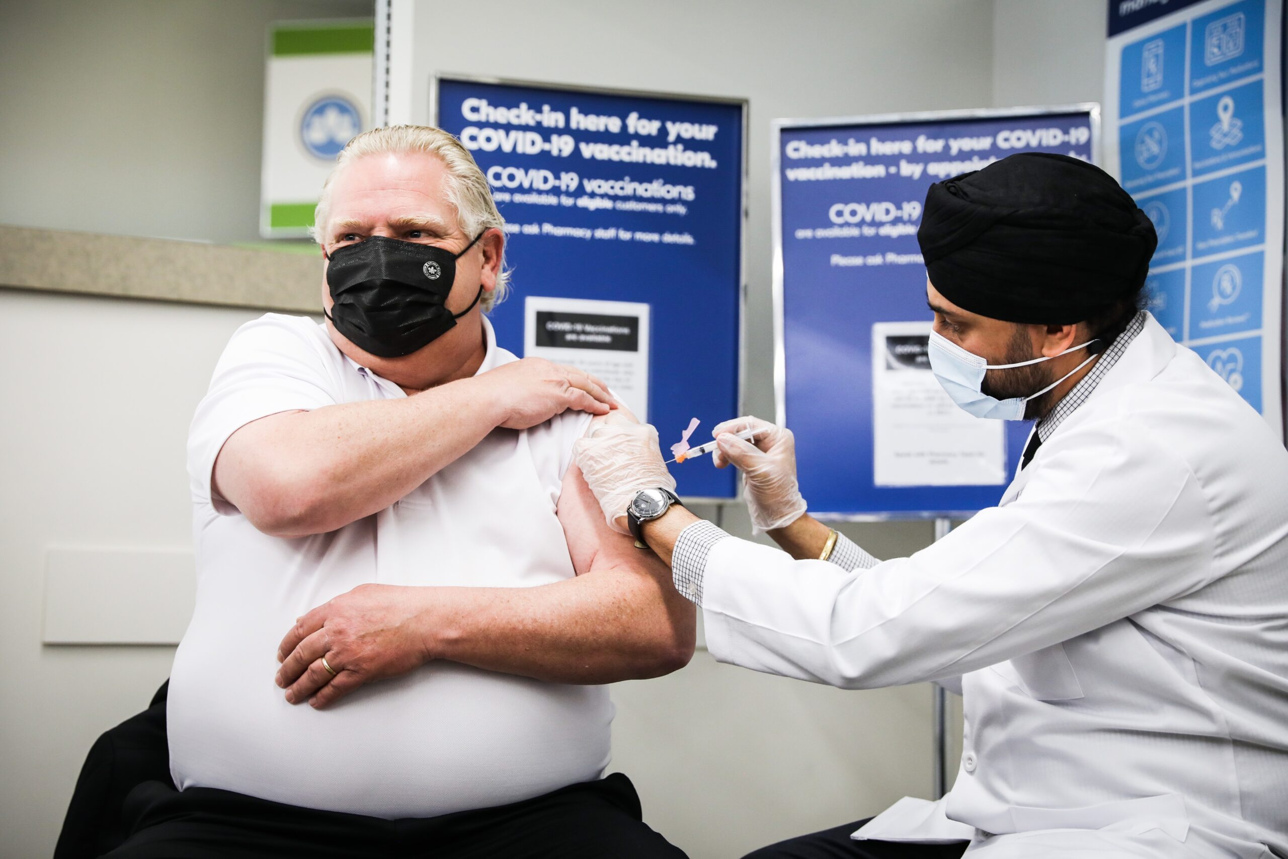 All Ontario NDP, Liberal and Green MPPs are vaccinated. As for the PCs, it's unclear.
