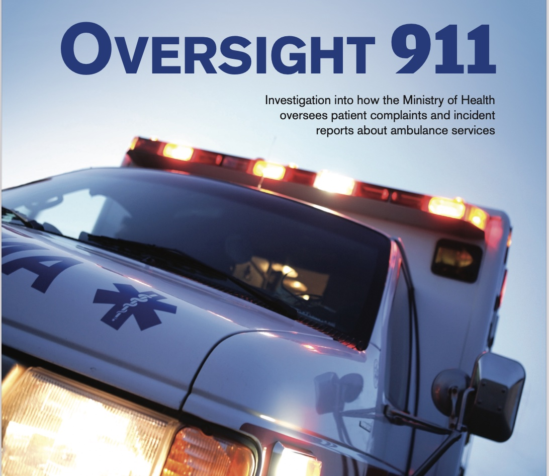 Ombudsman calls for overhaul of Ontario's 'unreasonable and wrong' process for handling ambulance-related complaints