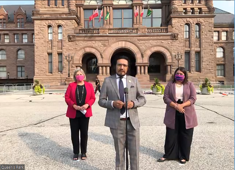 'It's very disappointing, but not shocking,' says Sol Mamakwa after government decides Sept. 30 won't be provincial stat holiday