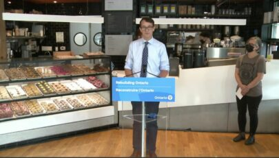 PC government to introduce legislation enabling WSIB to distribute portion of reserves to businesses